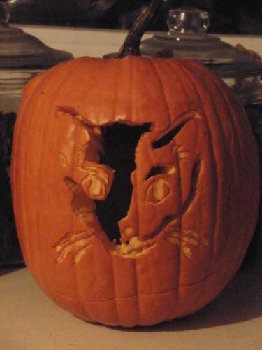 Sophia's Cat Pumpkin