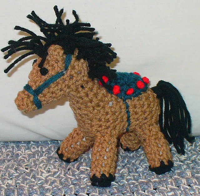 Amigurumi Horse Head : photo