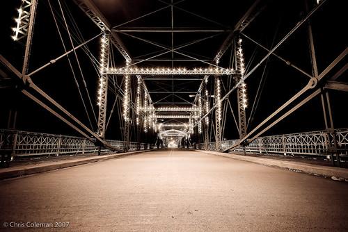 old ny hometown upstate binghamton chriscoleman walkingbridge binghamtonny iceman9294