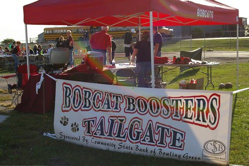 Community State Bank's Bobcat Boosters Tailgate