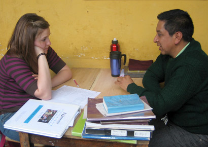 Newman University students study in Guatemala