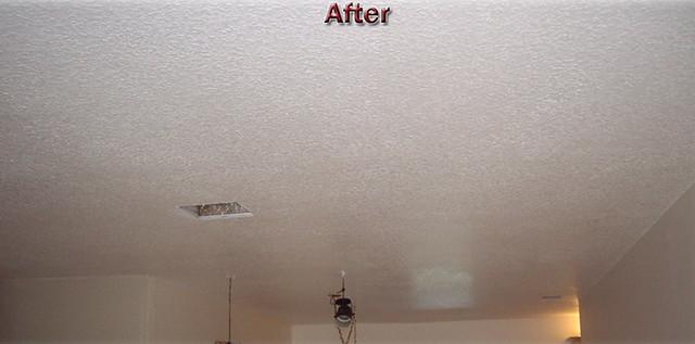 Drywall, Ceiling, Texturing, Repair, Remove Popcorn Refinishing