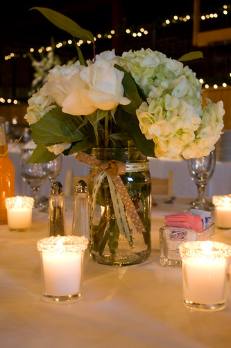 Inspiration spring mason jar centerpieces wedding theme