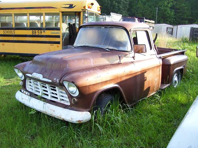 992580600on 1955 1957 Chevy Pickup Trucks