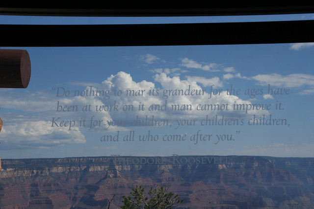 Grand Canyon quote Teddy Roosevelt | Teddys quote at ... Theodore Roosevelt Grand Canyon Quote