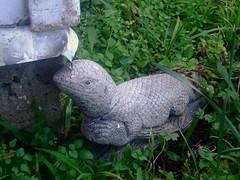 Lizard Statue