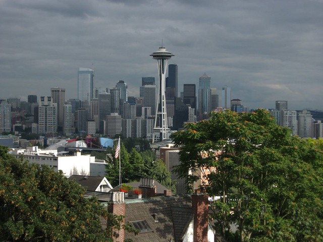 The Space Needle, Seattle, Washington, as Seen from Kerry Park, Queen Anne Hill