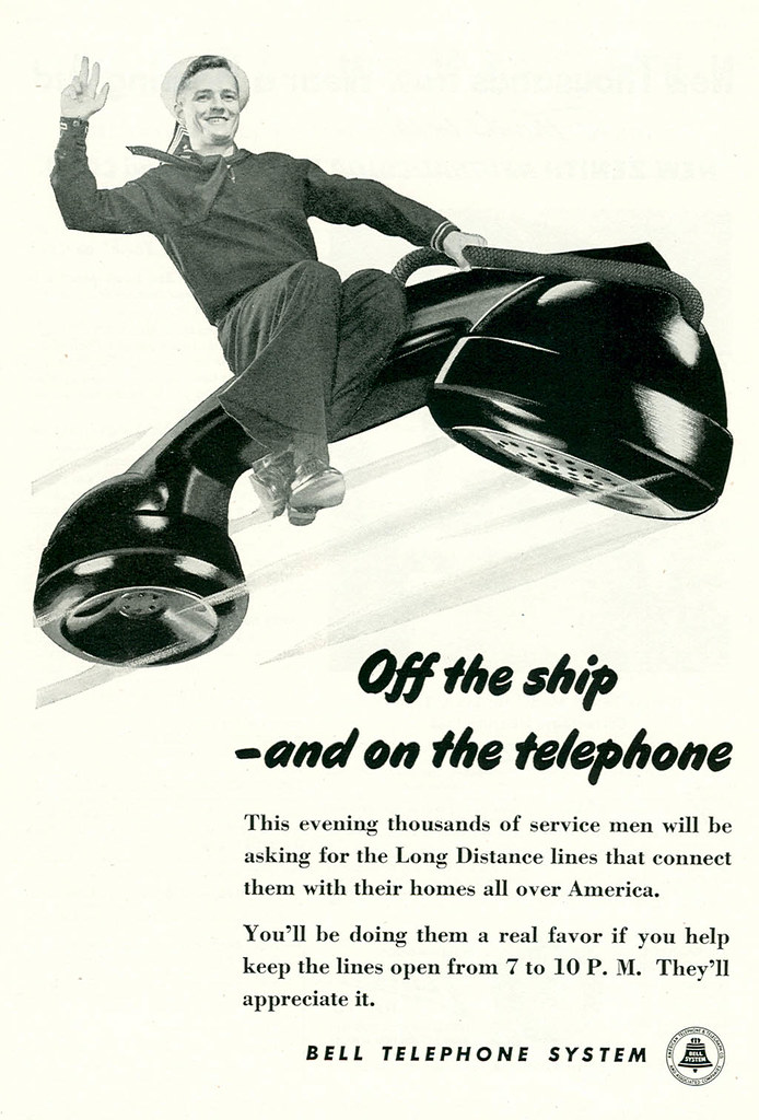 Bell Telephone System - 1945