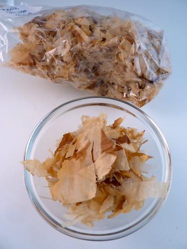 Vis en zeevruchten tokowijzer for Bonito fish flakes