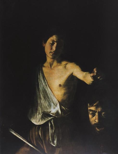 Caravaggio, Davide con la testa di Golia (David mit dem ...