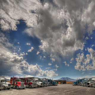 Truck clouds  -  Explore