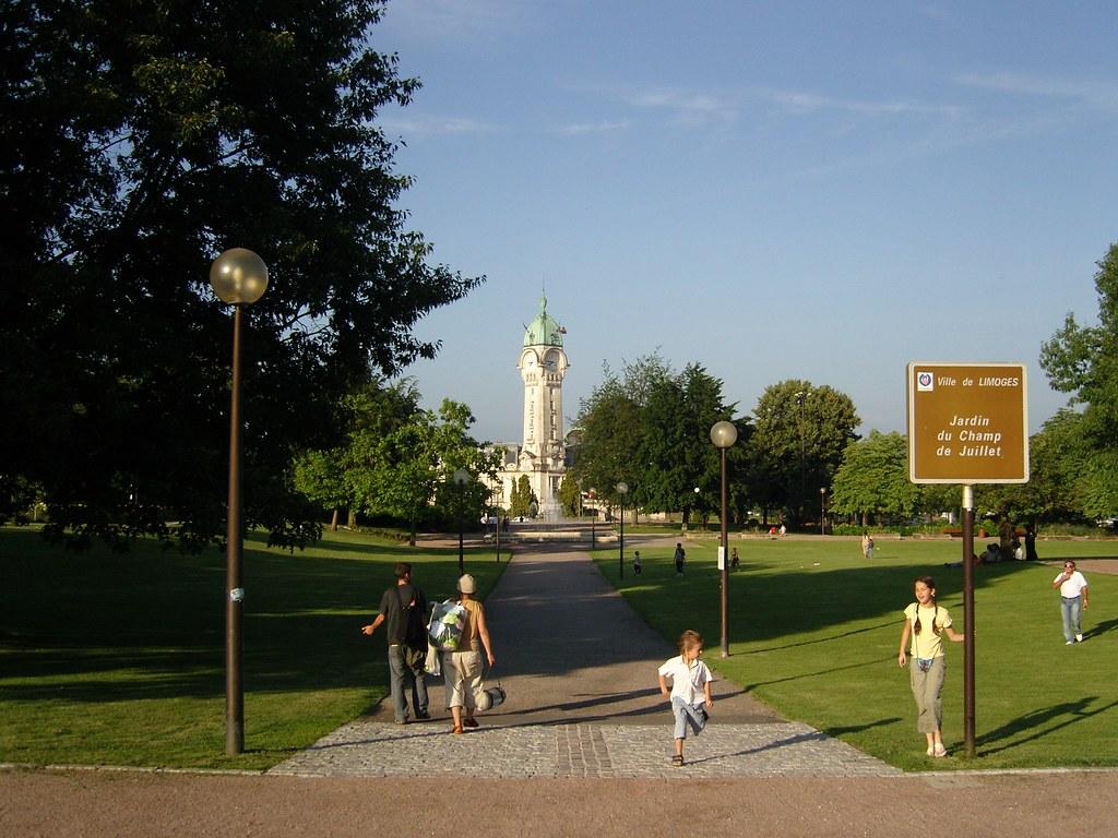 Limoges, Tour de la gare