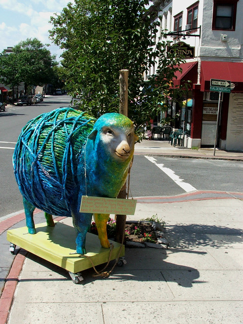 Yarn Shop Mascot, Wooly Wooly