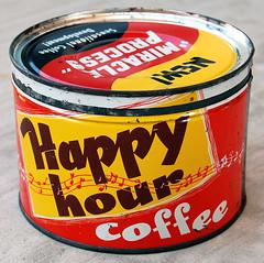 Happy Hour Coffee, 1950's