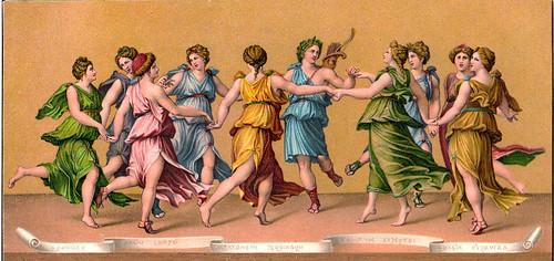 La danza d'Apollo con le Muse - Guilo Romano - Stengel