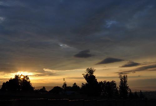 africa urban sunrise nikon kigali rwanda 2010 d90