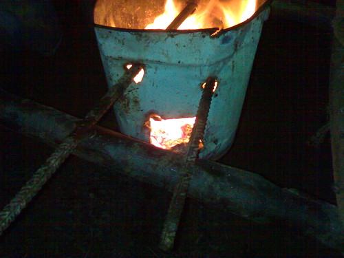 Omino bidone (testa calda)