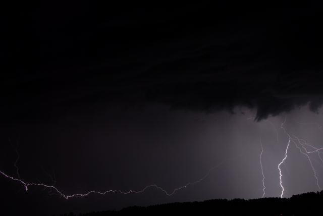 Thunderstorm in La Chaux-de-Fonds, Switzerland2