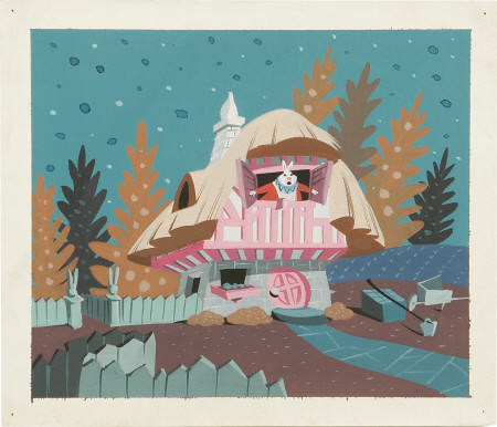 Alice concept piece by Mary Blair