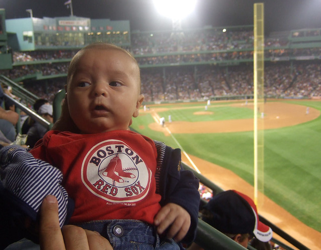 Red Sox Infant Car Seat