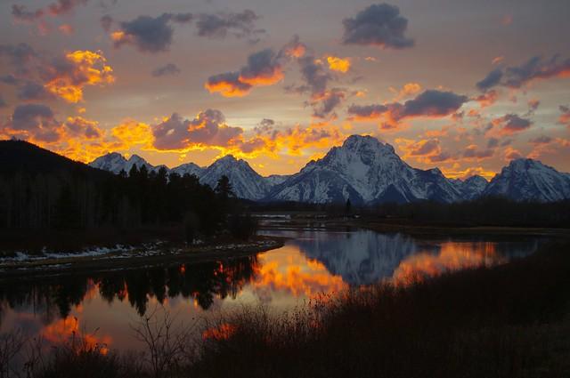 Marvelous Oxbow Sunset