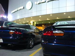 my car and cousine's ali car