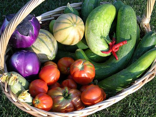 I colori degli alimenti
