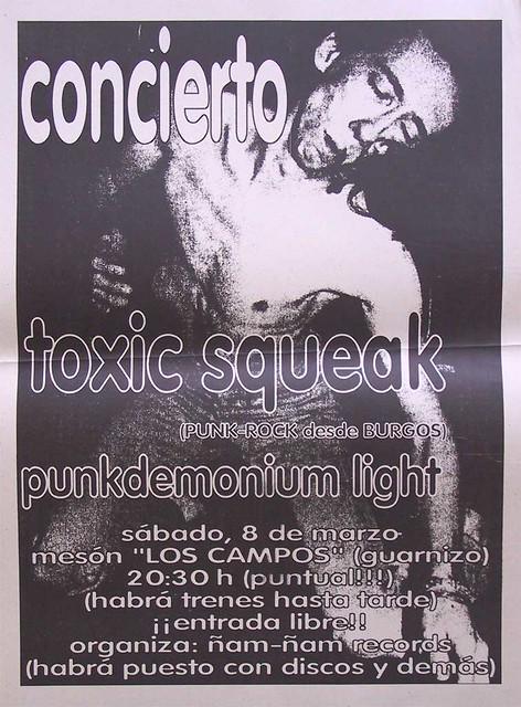 Toxic Squeak+Punkdemonium Light