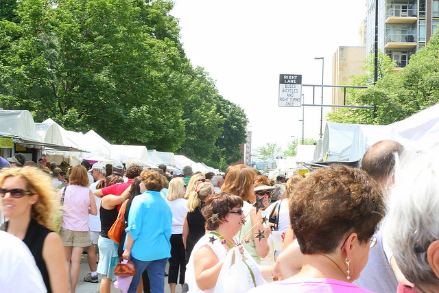 Header of Art Fair on the Square