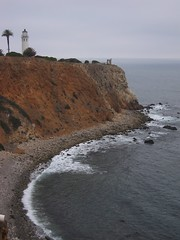 Point Vicente Lighthouse and Cliffs Below