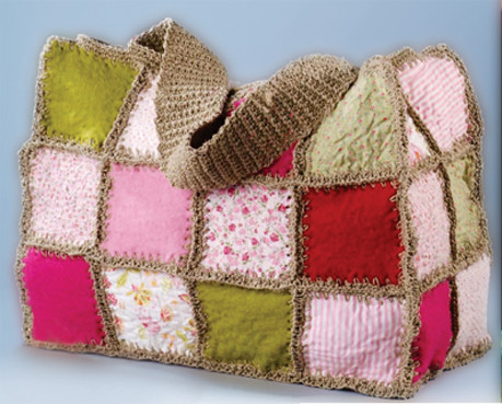 Felted Crochet : Felt & Crochet Bag Flickr - Photo Sharing!