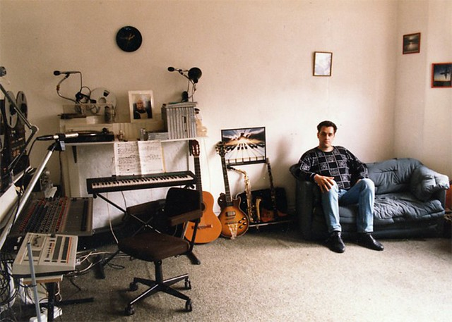 Gary Hayes - First Home Studio 80s