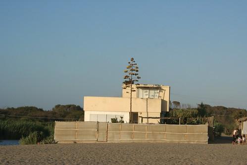 la casa di Alberto Moravia