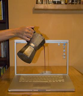 caffè a  computer