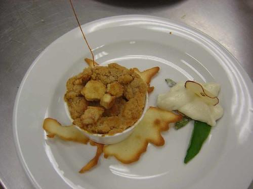 hot dessert for final presentation