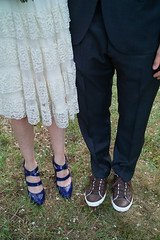 SDIM5924  The Bride and Groom's Footwear