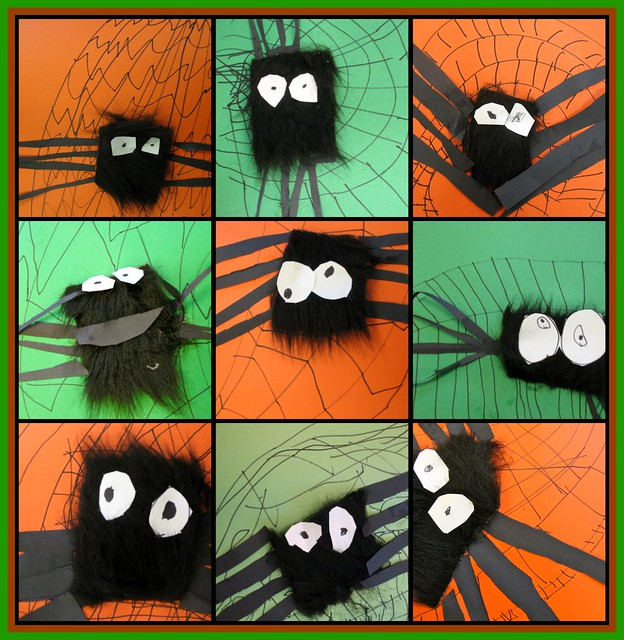 fabulously furry spiders.