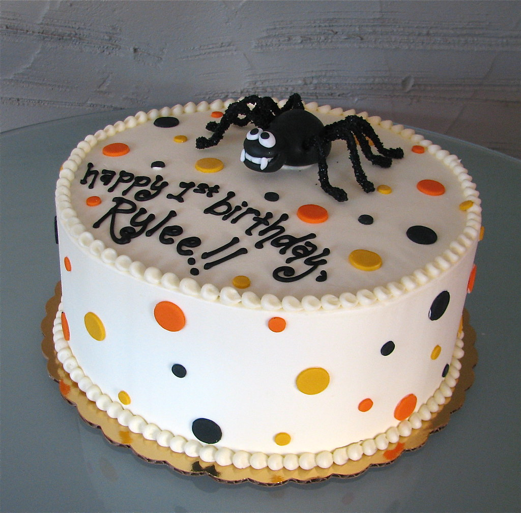 Halloween Cake Plate