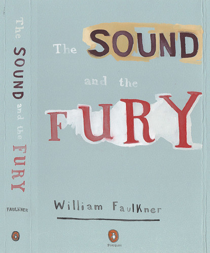 "Jennie Ottinger ""The Sound and the Fury (book cover)"""