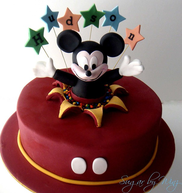 Cake Images Sonal : Mickey cake Flickr - Photo Sharing!