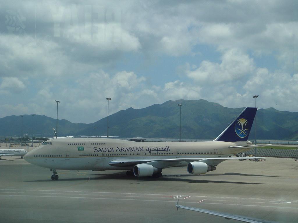 Saudi Arabian Airlines' TF-ATI: Boeing 747-300