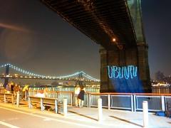 Ubuntu on the Brooklyn Bridge (courtesy G.R.L.)
