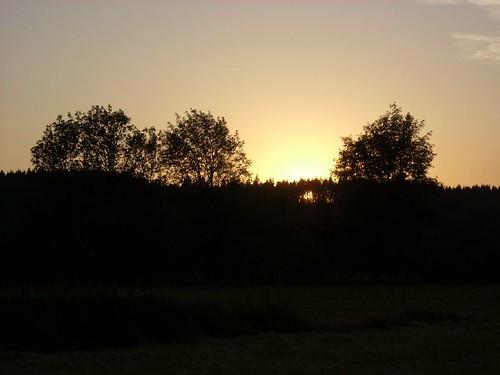 sunset landscape farm chehalis
