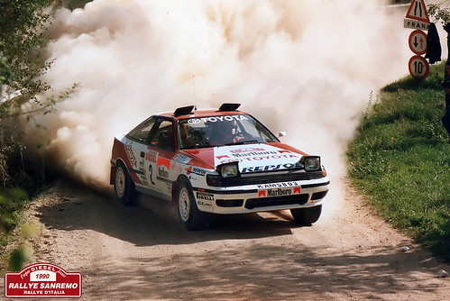 Rallye Sanremo 1990 - Carlos Sainz - Moya - Toyota Celica