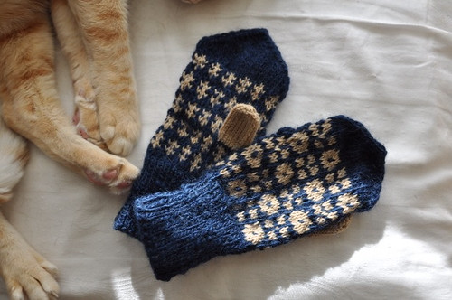 Toddler mittens