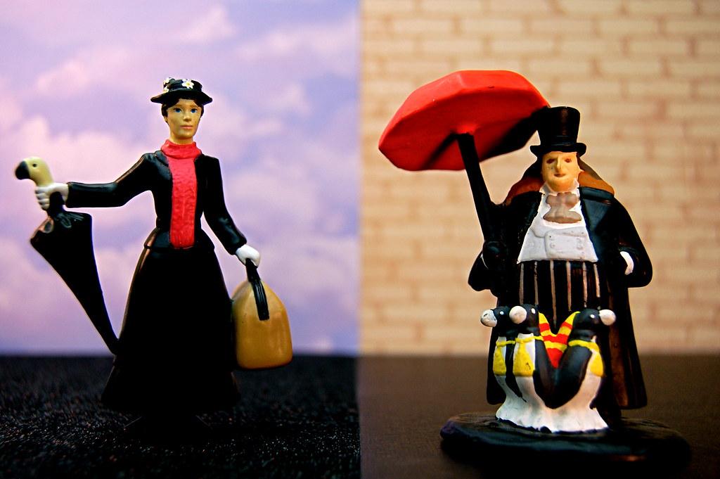 Mary Poppins vs. Penguin (308/365)