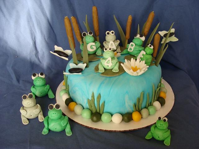 Frog Cake Flickr - Photo Sharing!