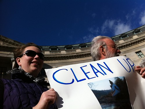 Scenes from today's Coal Ash March