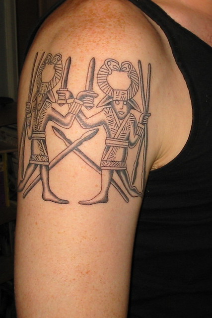 anglo saxon tattoo flickr photo sharing ForSaxon Warrior Tattoos