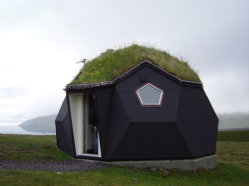 kvivik,the igloo where we stayed.Faroe Islands